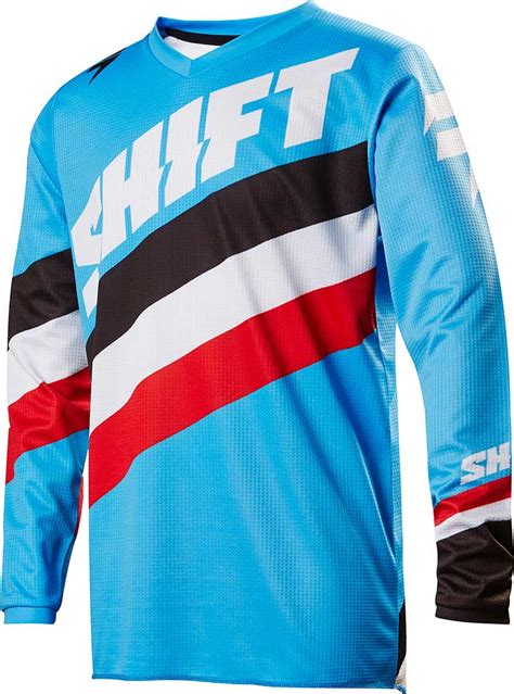 A Jersey Shift For Less by Shift Youth White Label Tarmac Jersey Mx Motocross