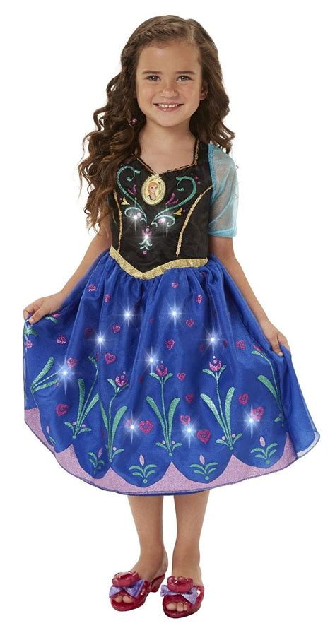 frozen light up dress disney frozen anna musical light up dress eveliina
