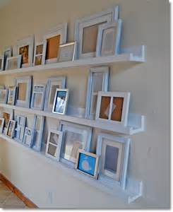easy diy picture shelf
