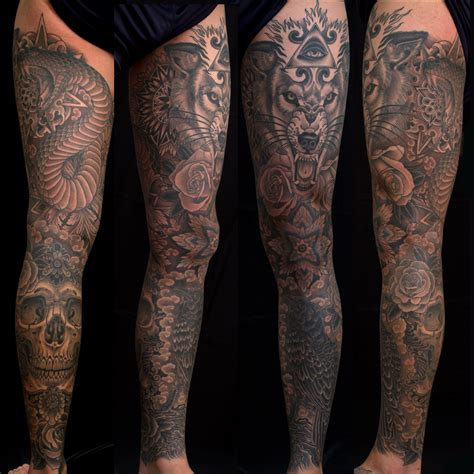 exceptional leg sleeves part one page 3 tattoo artist