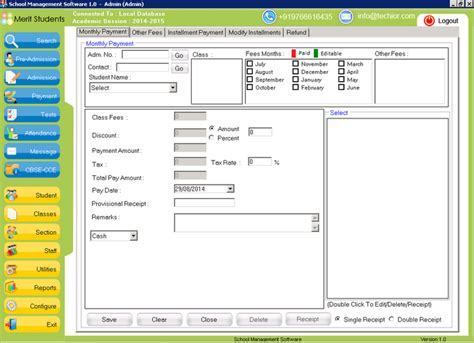 free software school management software