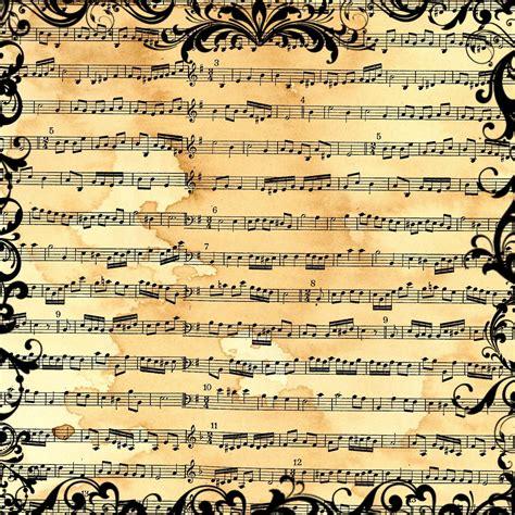 Paper Song - sheet vintage sheet