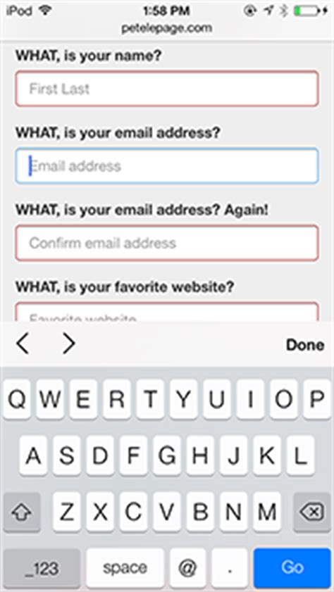 html input pattern for email making forms fabulous with html5 html5 rocks