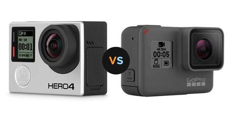 Gopro 5 Silver gopro hero4 silver vs hero4 black comparison best reviews 4kgopro