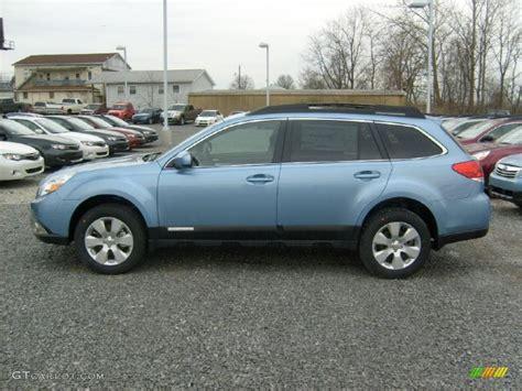 subaru wagon 2011 sky blue metallic 2011 subaru outback 2 5i premium wagon
