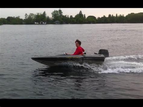 speedboot buitenboordmotor spitfire speedboot met 7 5 pk youtube