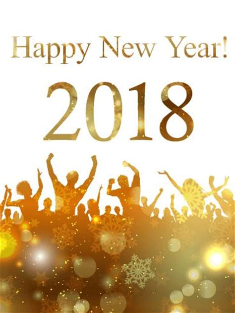 new year warriors 2018 golden new year card 2018 will you be attending a