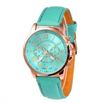 Jam Tangan Geneva Tosca geneva jam tangan wanita hijau tosca kulit