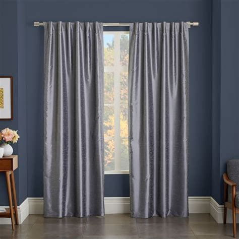 add blackout liner to curtains greenwich curtain blackout liner platinum west elm