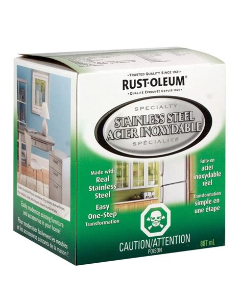home depot paint quantity rustoleum rust oleum stainless steel 887ml the home