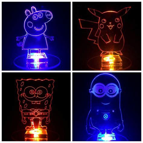 cool night lights for kids minion flashing night light cool n gift for kids room ebay