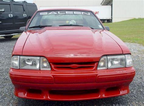 1987 mustang saleen scarlet 1987 saleen ford mustang hatchback