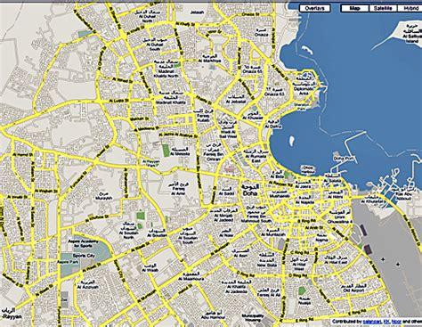 where is doha on world map doha map my