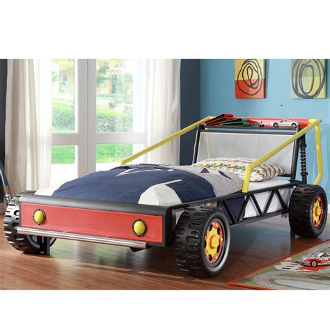 toddler size bed bed kiran toddler s silver race car size bed