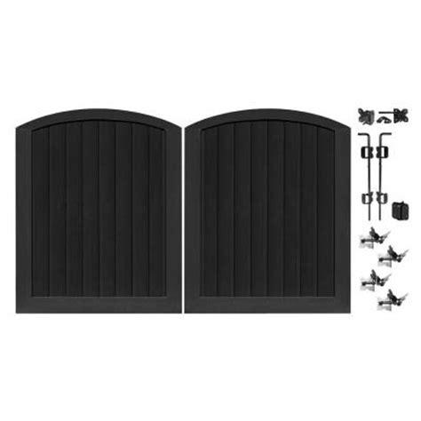 veranda pro series 5 ft x 6 ft black vinyl anaheim
