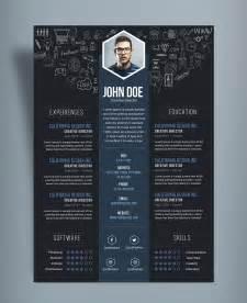 Free Creative Resume (CV) DesignTemplate PSD File   Good