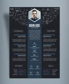 Free Creative Resume Cv Designtemplate Psd File Good