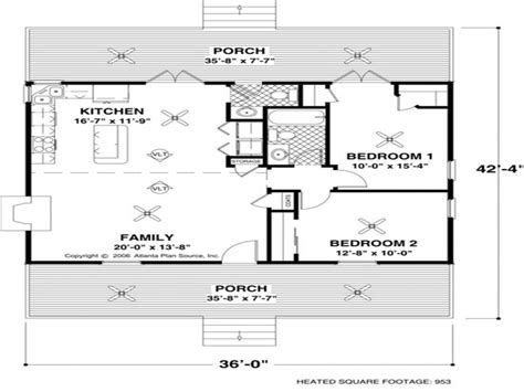 Small House Plans 1000 Sq Ft by Small House Floor Plans 1000 Sq Ft Small House Floor