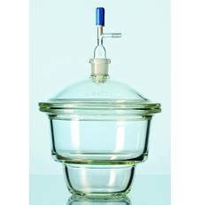 Desiccator Vacuum Glass With Stopcock With Plate Dia 250 Mm Normax duran 247824604 vacuum desiccators duran with stopcock