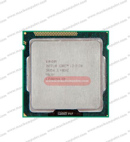 Processor I3 2130 3 4ghz Socket 1155 Garansi 1thn processor intel i3 2130 bridge dual 3 4ghz