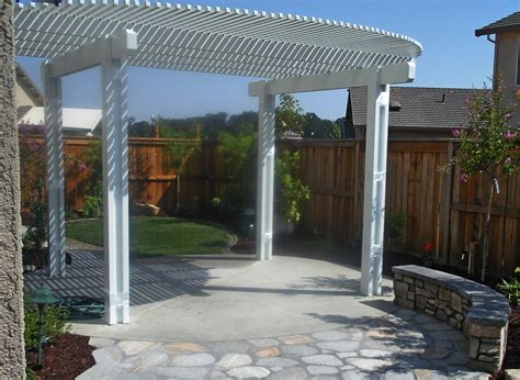 patio trellis roseville backyard trellis patio cover flagstone patio