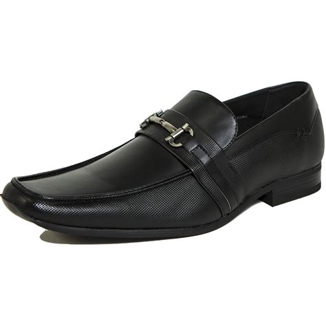 buckle mens shoes alpine swiss stelvio mens buckle loafers slip on tapered