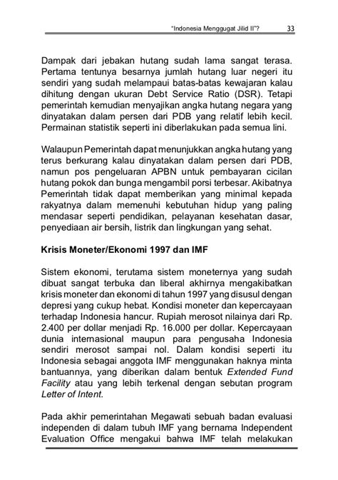 Letter Of Intent Indonesia Dan Imf letter of intent indonesia dengan imf 28 images imf