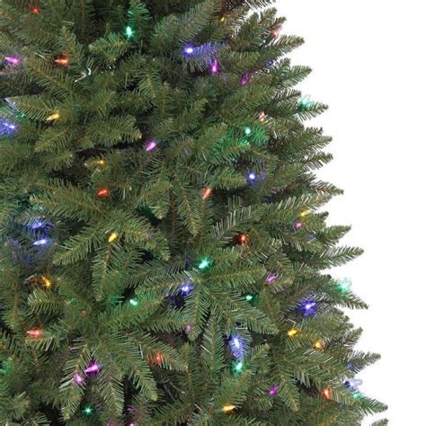 7 5 ft matthew fir quick set artificial christmas tree