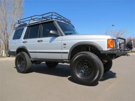 land rover discovery lifted buy used 2002 land rover discovery ii 2 custom lifted