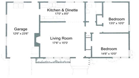2 Bedroom House Plans Free 2 Bedroom House Simple Plan