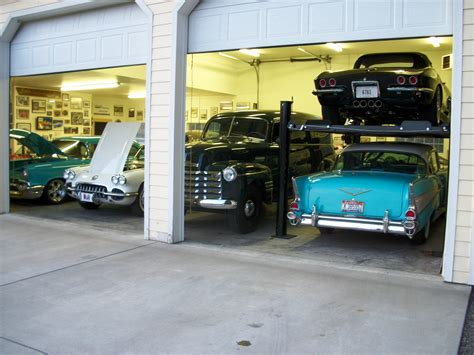 Garage Of Cars by Classic Cars Classic Garage