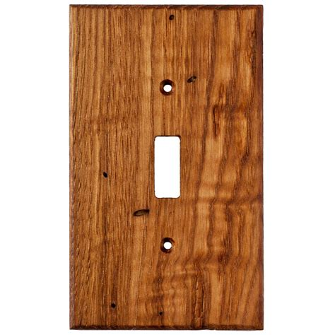 light wall plate wormy chestnut reclaimed wood wall plates 1 light