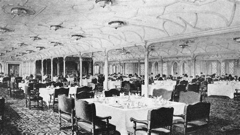dining on the titanic life on board cuisine titanic 100 years article