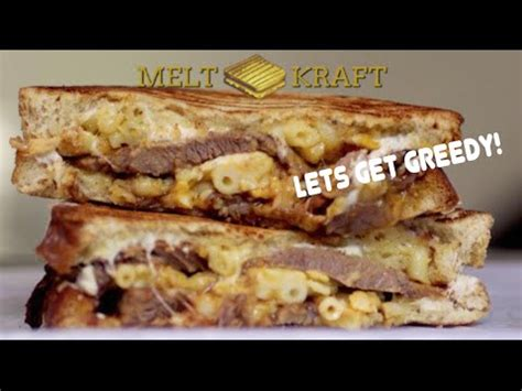 K Feds Getting Greedy by Mac Cheese Beef Brisket Melt Melt Kraft On Let S Get