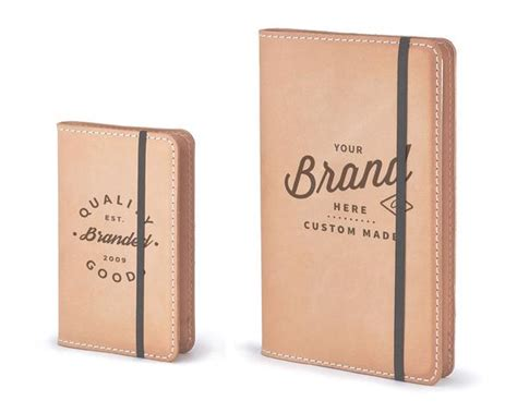 Printed Promotional Moleskine Notebook Quality Branded - personalized premium leather cover for moleskine notebooks