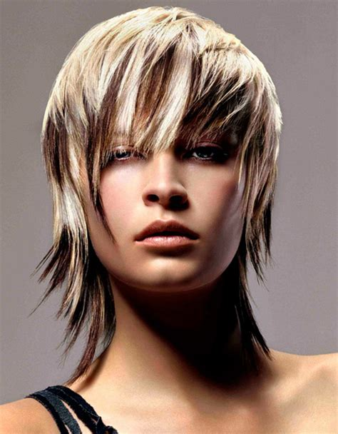 Choppy Hairstyles by Choppy Layered Haircuts 2012 Models Picture