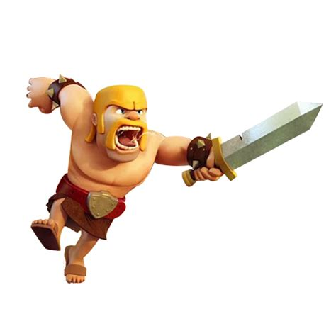 clash of clans barbarian level 7 clash of clans renders