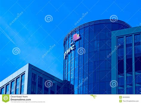 audi financial sign in pwc tower editorial image image of company financial