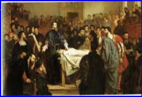 Bio Di Century anatomy lessons of the 17th century