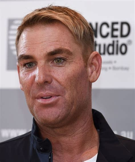 does shane warne wear a hair shane warne is that you cricket legend transforms with