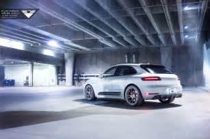 Porsche Macan Wheels Vorsteiner V Ff 103 Wheels For The Porsche Macan Vr World