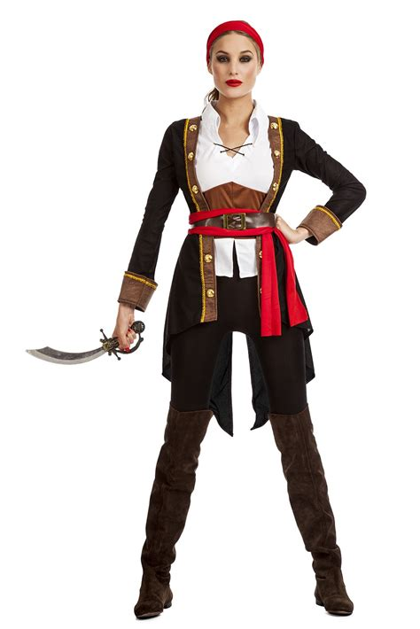 imagenes mujeres piratas disfraz pirata mujer negro disfrazman 237 a
