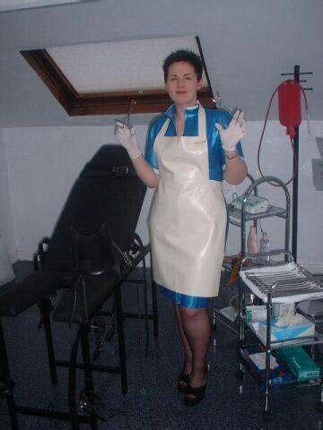 E118 158 000 Premium Dress nursesmedical deluxe apron in ebay