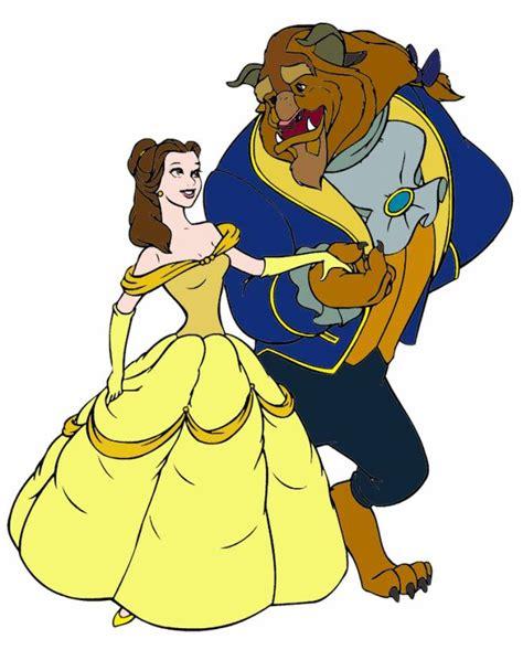 armadio e la bestia disegno di la e la bestia ballo a colori per bambini