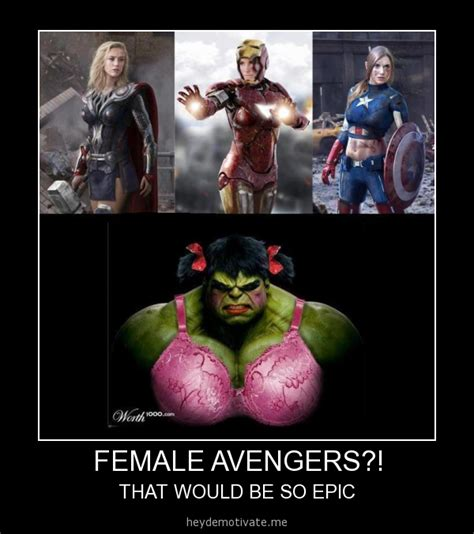 Female Meme - female avengers