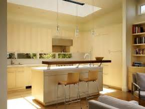 skylight over kitchen and the raised breakfast bar islands bars island designs