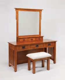 Dressing Vanity Table Amish Mission Vanity Table