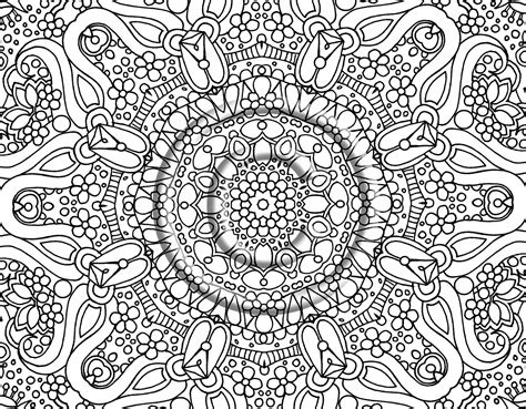 coloring pages hard patterns free printable abstract coloring pages for adults