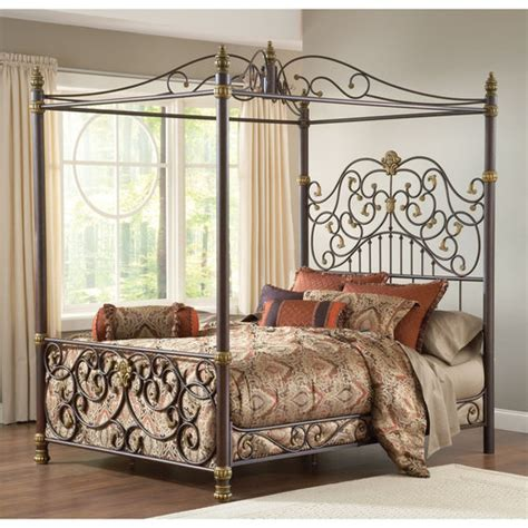5 Metal Canopy Bed Issues And How To Solve Them Bangdodo Wrought Iron Four Poster Bed Frames