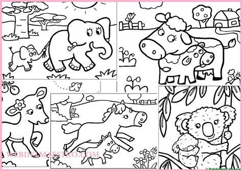 dibujos infantiles con animales flores y plantas en dibujos para pintar animales y sus cr 237 as web del maestro